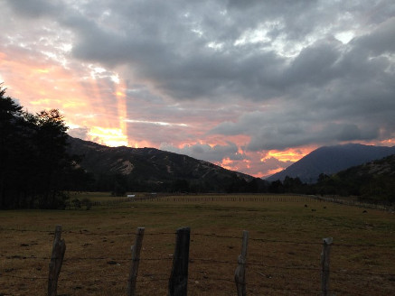 Sunset at Nabusimake