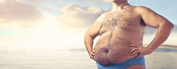 señor gordo feliz